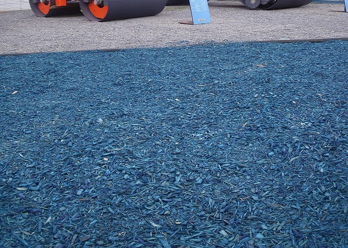 BLUE Woodchip